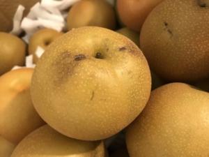 訳あり 梨の 状態